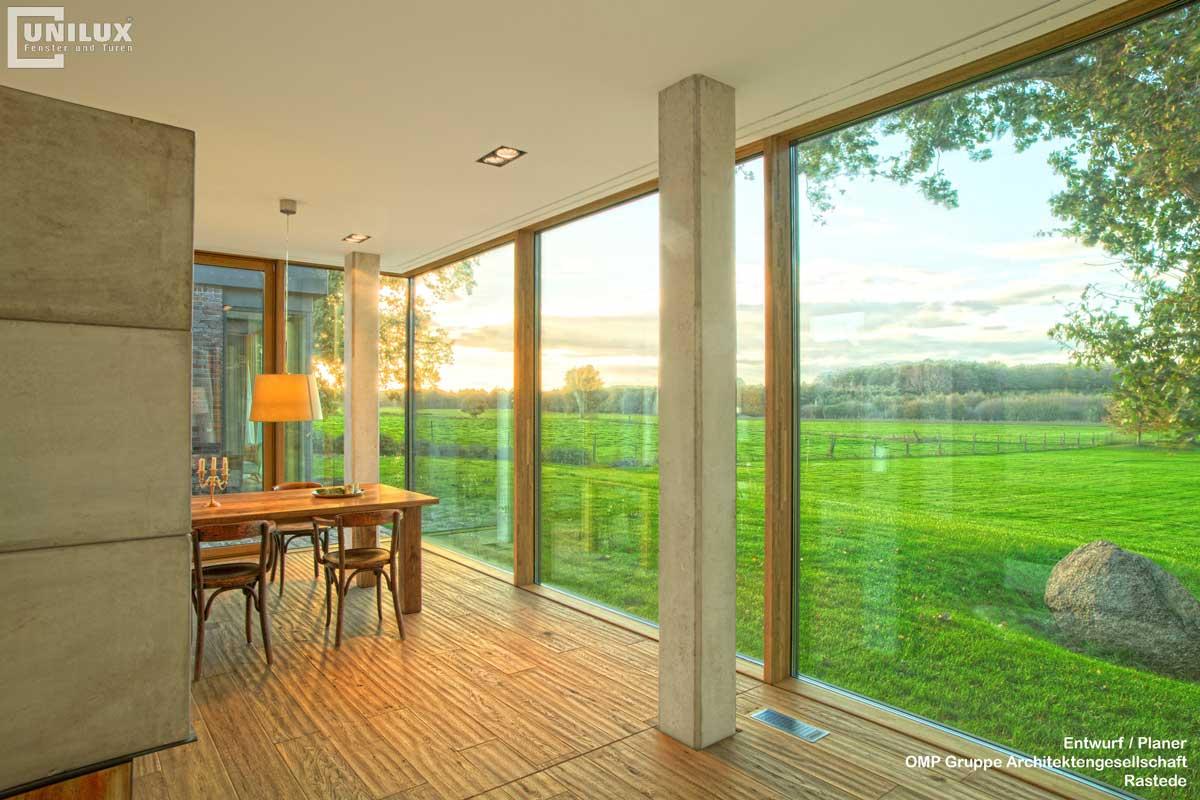 UNILUX окна Varel-Architekt-J