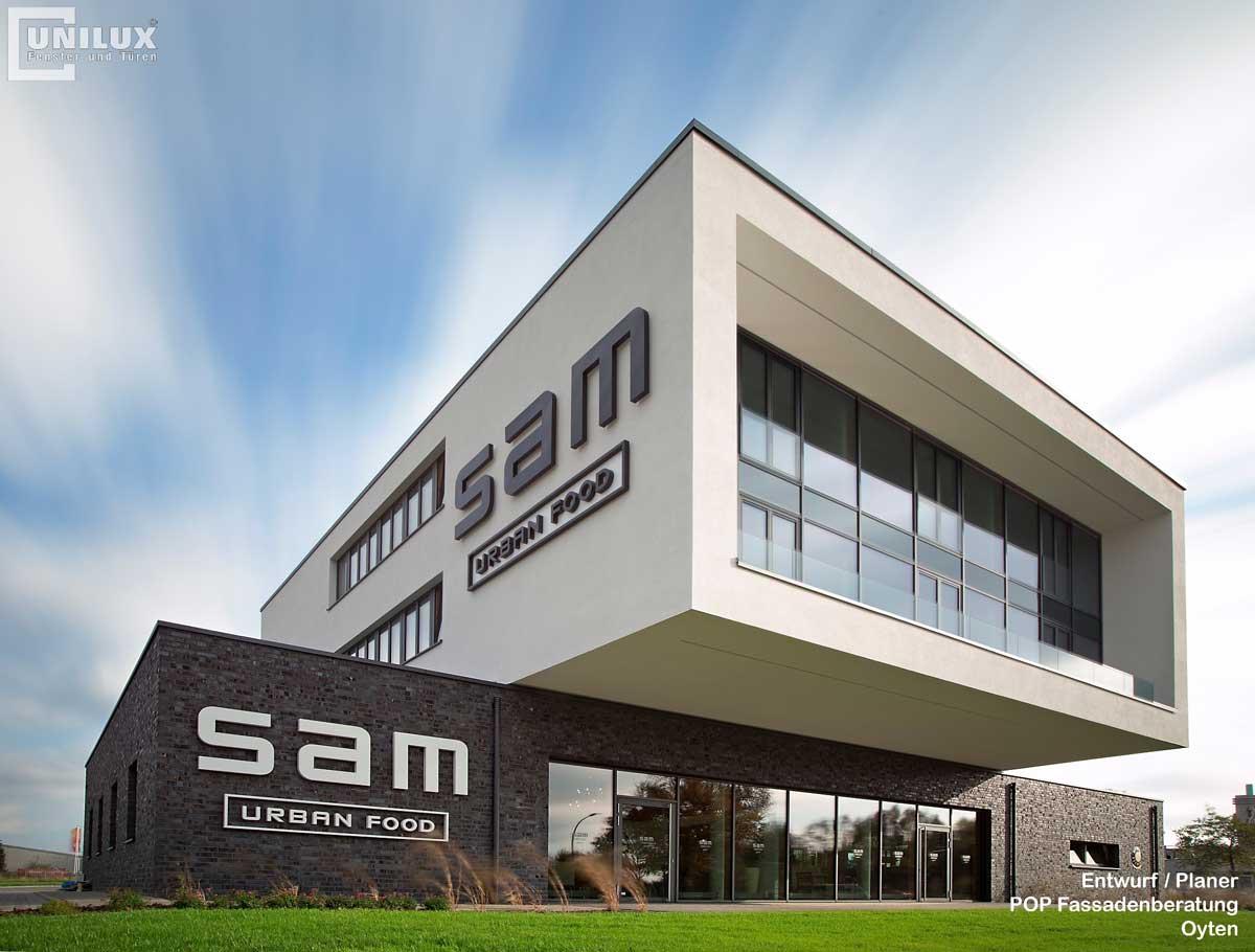 UNILUX SAM в Ойтен фасад фото снизу